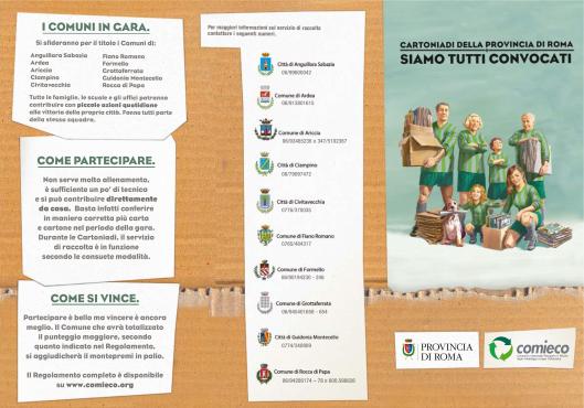 Le Cartoniadi 2011, brochure