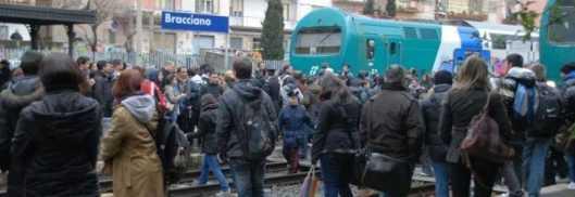 Una delle tante proteste organizzate dai viaggiatori