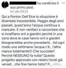 I post dei residenti di Ponton dell'Elce