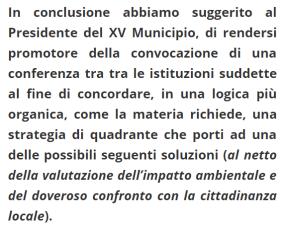 L'invito al Presidente Simonelli alla convocazione di un tavolo tra istituzioni